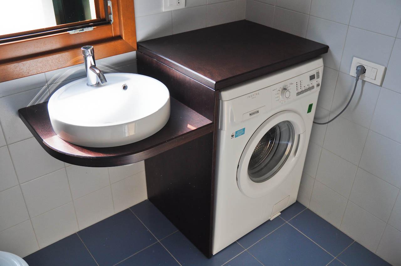 Mobile noce per lavatrice la scelta giusta variata sul for Coprilavatrice in legno